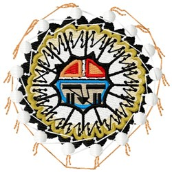 Hopi Tribal Symbol embroidery design
