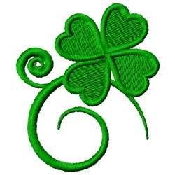 St. Patricks Day Shamrock embroidery design