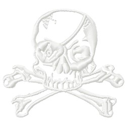 FRMO Skull embroidery design