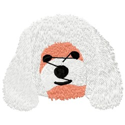 Poodle Head embroidery design