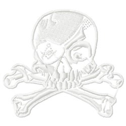 FRMO Skull embroidery design