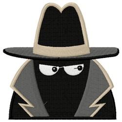 Shadow Spy embroidery design
