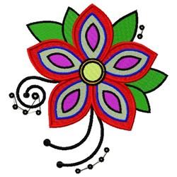 Decorative Flower embroidery design