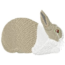 Dutch Rabbit embroidery design