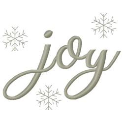 Winter Joy embroidery design