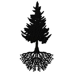 Paradise Pine embroidery design