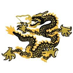 Asian Dragon embroidery design