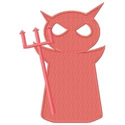 Pink Devil embroidery design