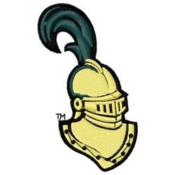 Knight Head embroidery design