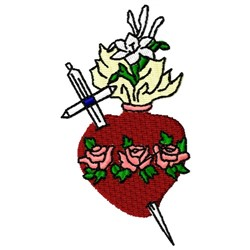 Immaculate Heart embroidery design