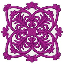 Orchid Quilt embroidery design