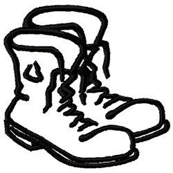 Old Boots embroidery design