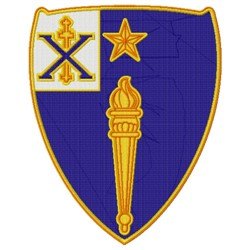 46th Infantry embroidery design
