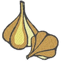 Garlic Clove embroidery design