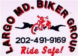 Largo Md. Biker Group embroidery design