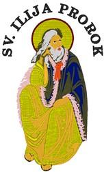 SV ILIJA PROROK embroidery design