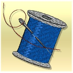 Spool of Thread embroidery design