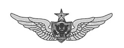 Aircrew Badge embroidery design