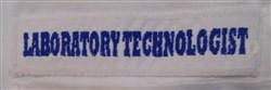 Laboratory Technologist embroidery design