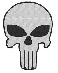 Punisher Skull embroidery design