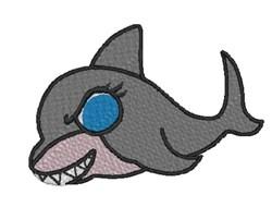 Shark Boy embroidery design