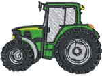 Tractor embroidery design