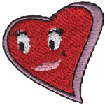 Friendly Heart embroidery design
