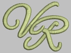 VR embroidery design