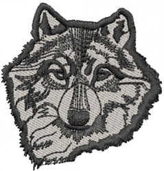 TIMBER WOLF embroidery design