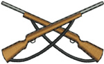 Weapon embroidery design