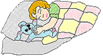 Sleeping Child embroidery design