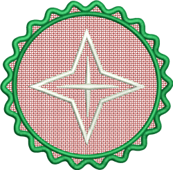 FSL Nativity Star embroidery design