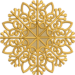 FSL Ornament embroidery design