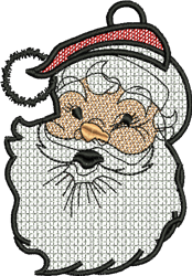 FSL Santa embroidery design