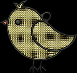 FSL Bird embroidery design