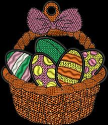 FSL Easter Basket embroidery design