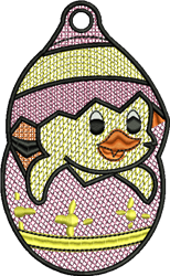 FSL Easter Chick embroidery design
