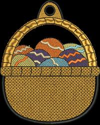 FSL Egg Basket embroidery design