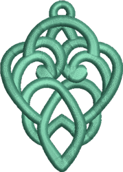 FSL Intertwined Hanger embroidery design