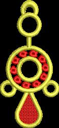 FSL Circle Pendant embroidery design