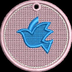 FSL Dove embroidery design