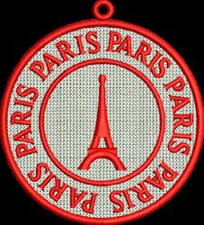 FSL Paris embroidery design