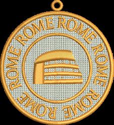 FSL Rome embroidery design