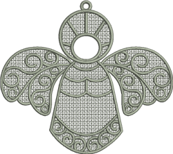 FSL Angel  embroidery design