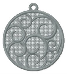 FSL Swirls embroidery design