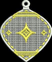 FSL Delicate Christmas Ornament embroidery design