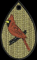 FSL Cardinal embroidery design