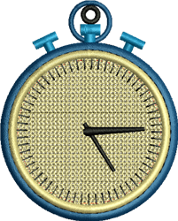 FSL Stop Watch embroidery design