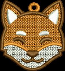FSL Fox Head embroidery design