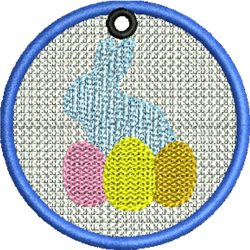 FSL Easter Bunny embroidery design